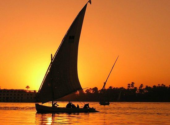 Aswan Nile Felluca