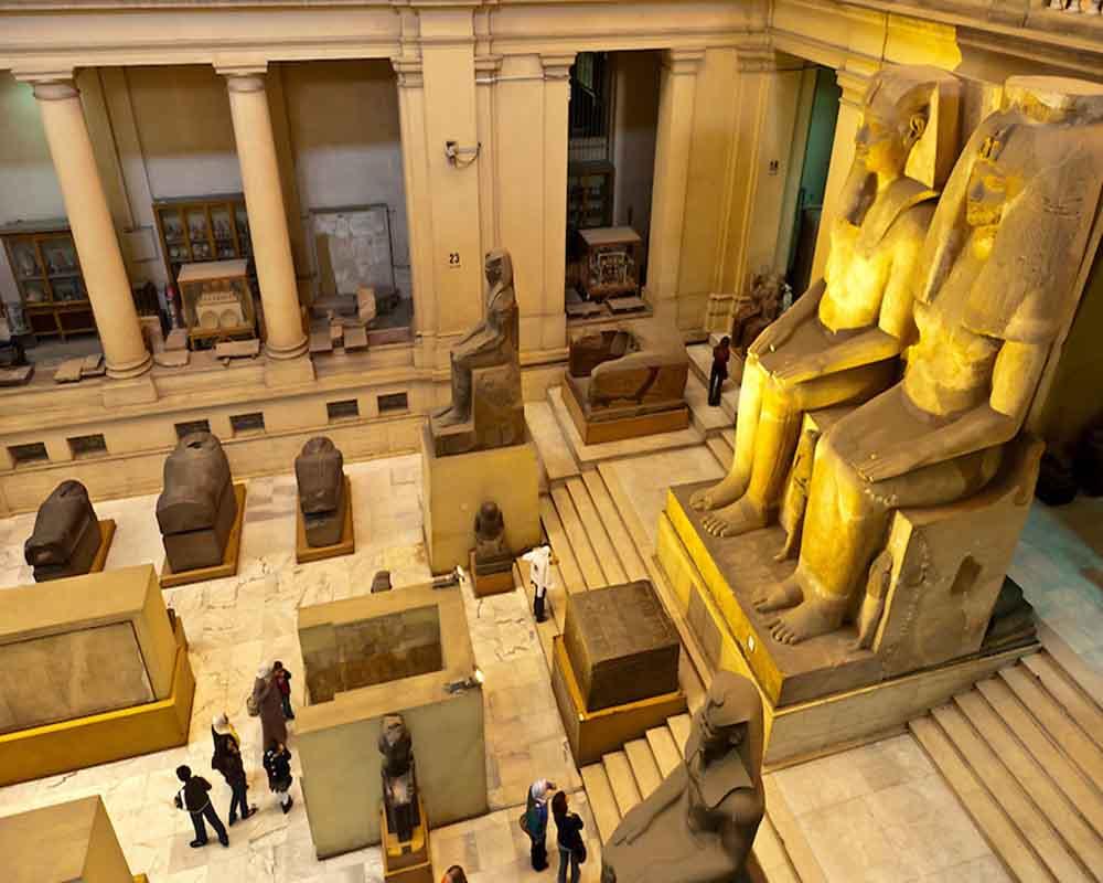 Inside Egyptian Museum - Cairo