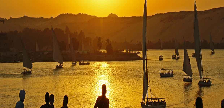 Egypt Nile Sunset