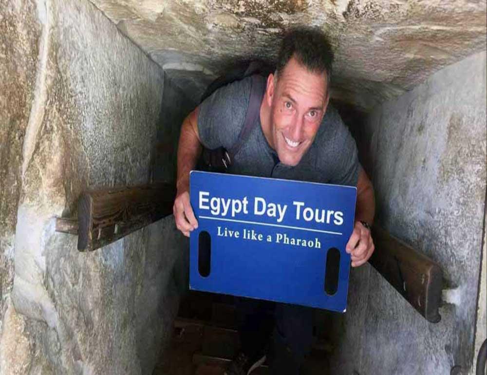Tour inside the pyramids