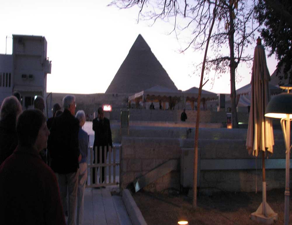 Cairo Show at Giza Pyramids