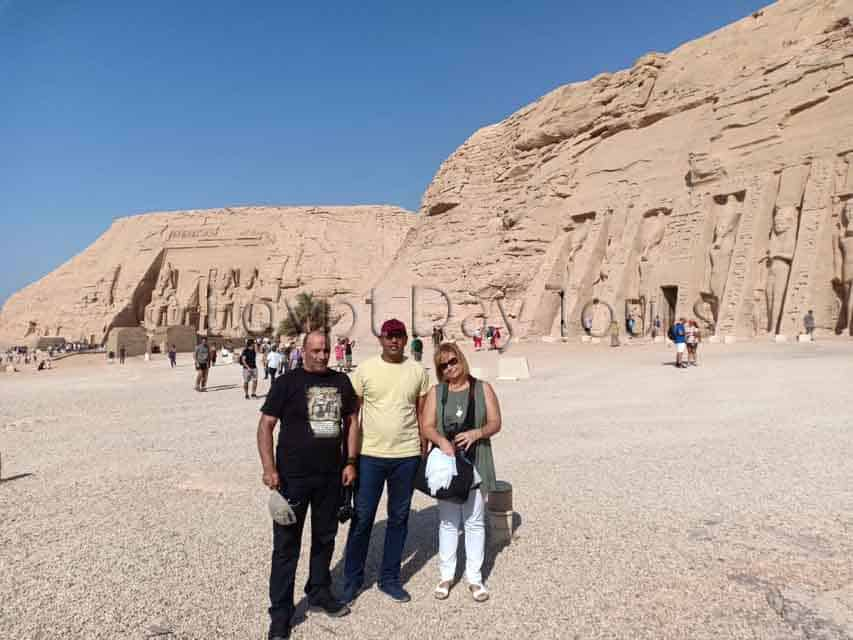 Abu Simbel tour by flight