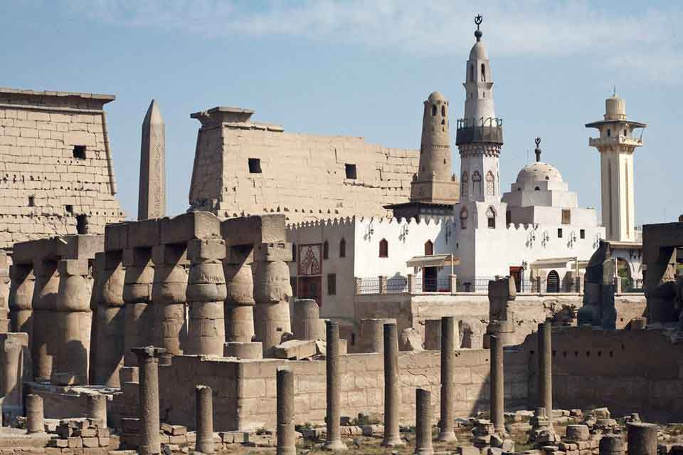 Luxor Temple Ancient Egypt