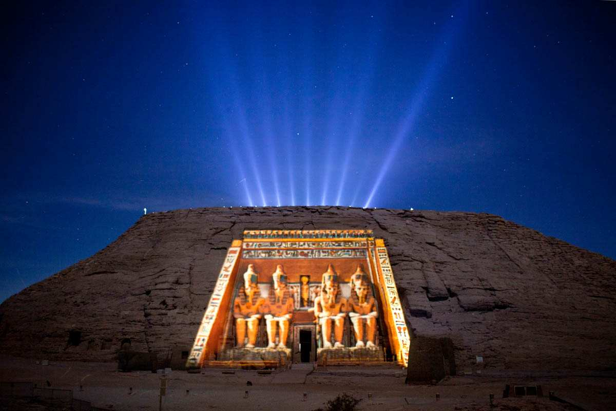 Aswan Sound and Light show