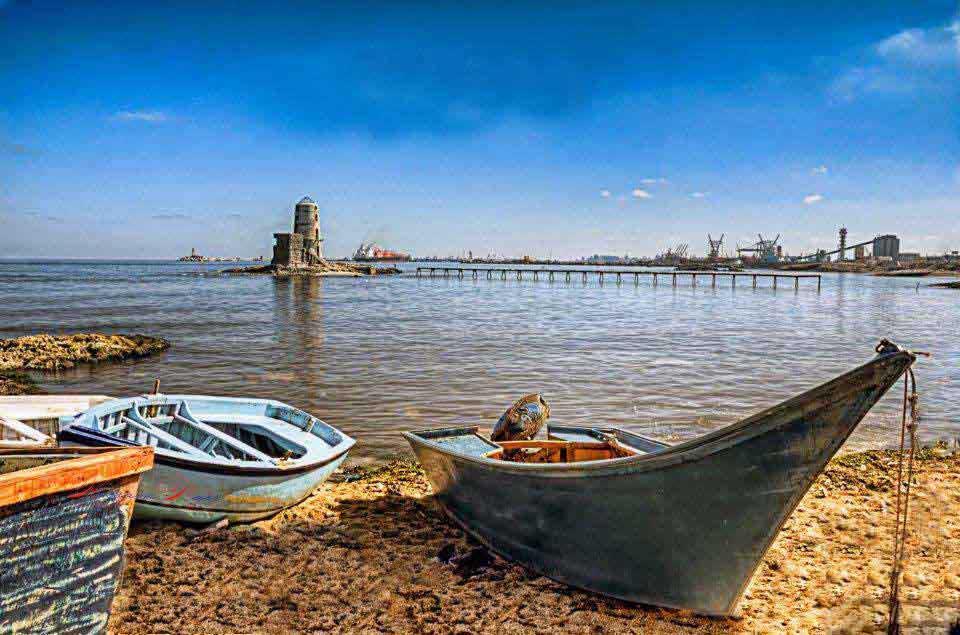 Boat in Alexandria Beach
