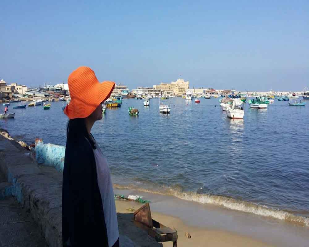 Alexandria Mediterranean sea
