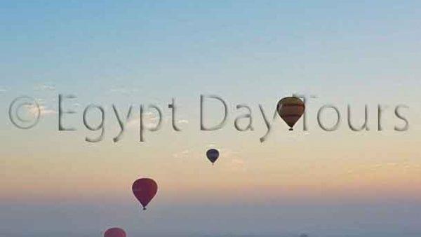 Luxor air balloon tour