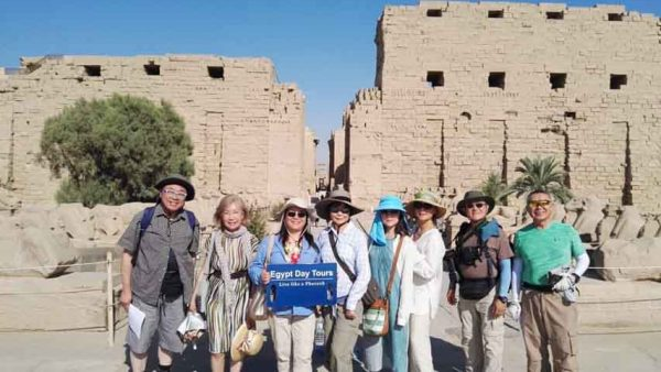 Luxor tour by train from Cairo