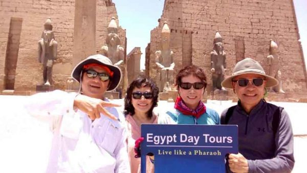 Luxor tour by flight from Cairo