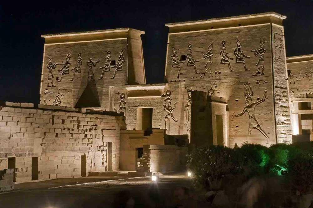 Aswan sound and light show- Night tour