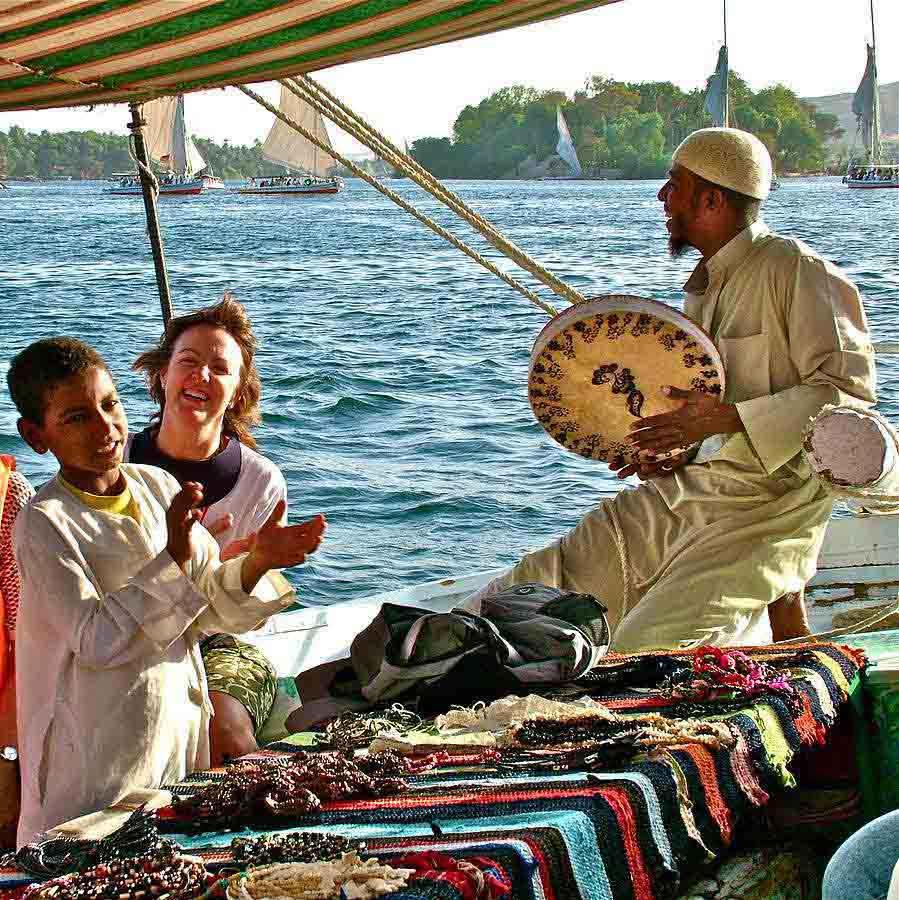 Nile Feluca in Aswan