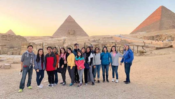 Cairo Sightseeing tour group