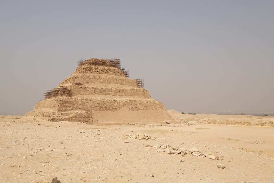 stepped pyramid of sakkara visit