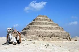 step pyramid of djoser - saqqara