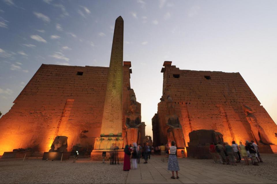 Luxor Temple Light Show