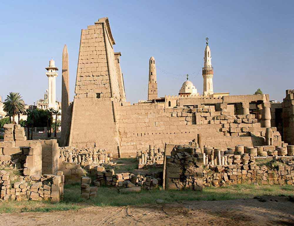 west bank - Luxor temple