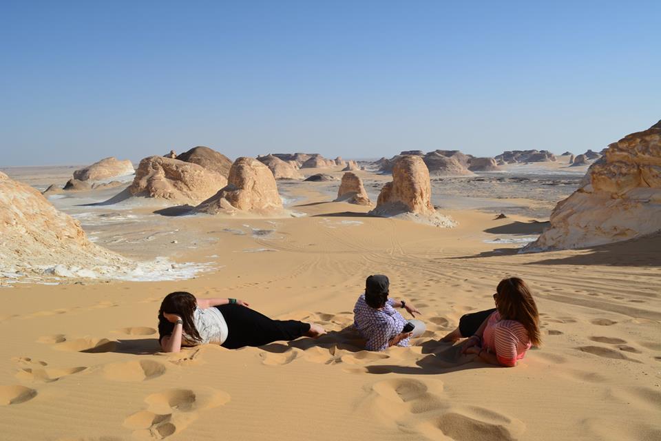 Camping in White Desert Safari