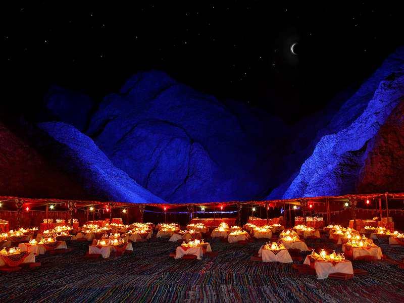 Bedouin dinner in Hurghada