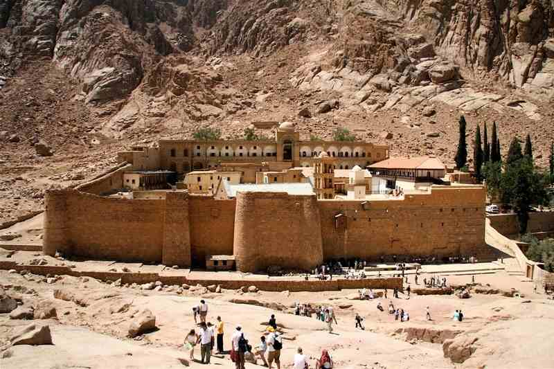Saint Catherine Monastery tour -egypt