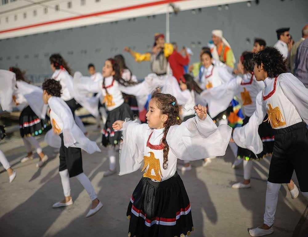 banbotya children dance - port said