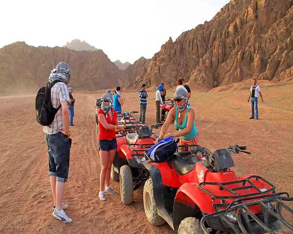 safari by quad biking - sharm