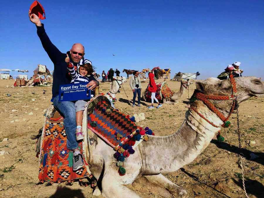 rid camel - Pyramids tour