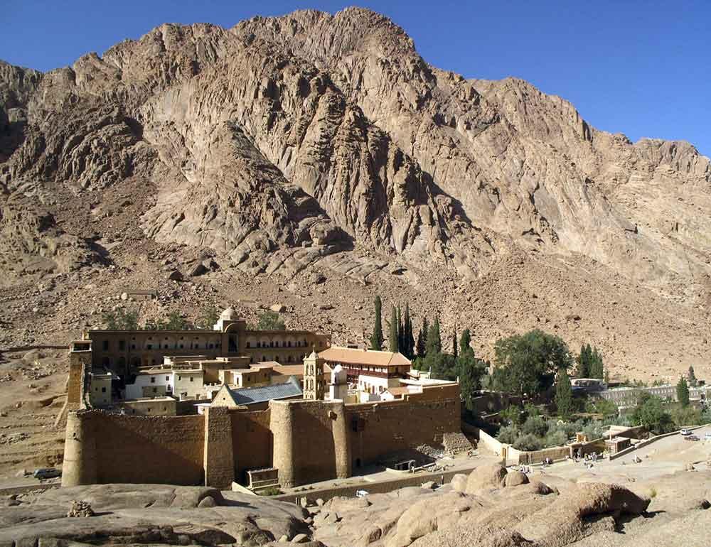 Saint Catherine in Sinai