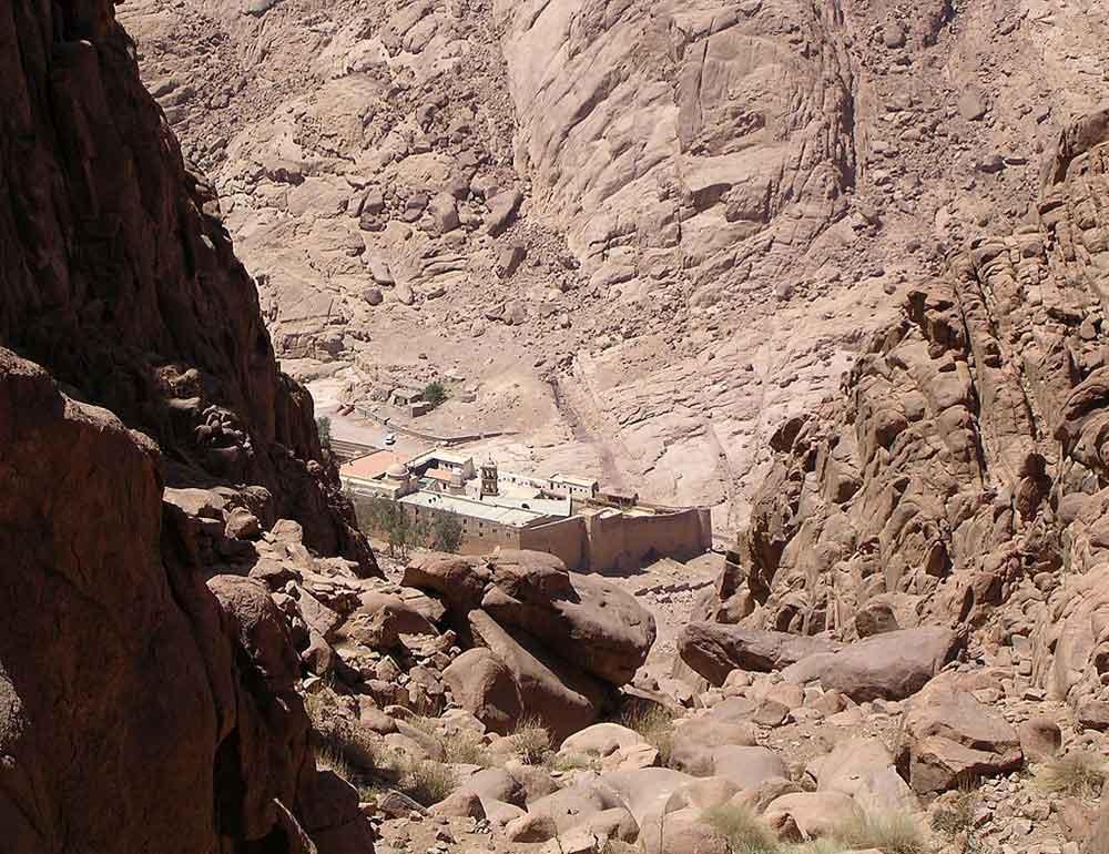 St Catherines egypt Sinai