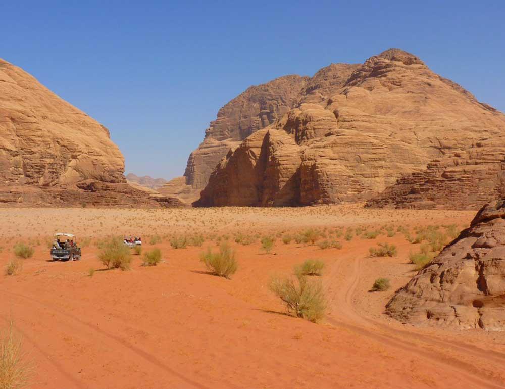 wadi rum tour - Jordan