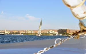 Aswan felluca nile boat tour
