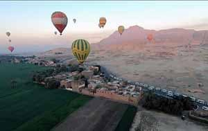 ballon trip in luxor