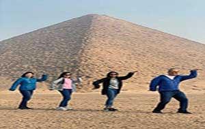 Great Pyramids dance tour excursion
