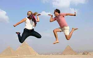 Pyramids over day tour from Cairo Airport