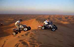 Quad bike tour excursion