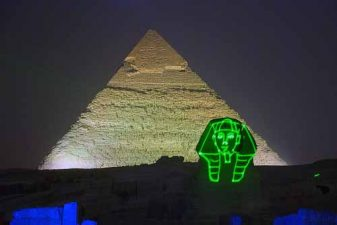 sound and light show in giza